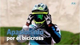 David Marroquín persigue su sueño del Bicicross