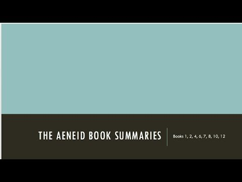 aeneid summary Summary of the aeneid  welcome to the bloomsbury companion website  supporting the text edition of virgil aeneid x written for the ocr a level in latin.