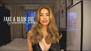 How I Fake A Blow Out For New Years Eve - Isabella Jedler Hair Tutorial