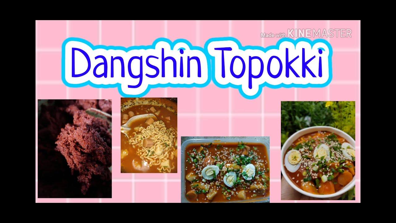 Topokki homemade ala cutja   DANGSHIN TOPOKKI