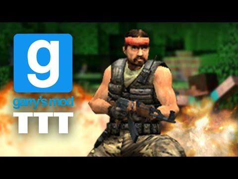 Gmod Trouble In Terrorist Town - MINECRAFT MURDER! (Garry's Mod)