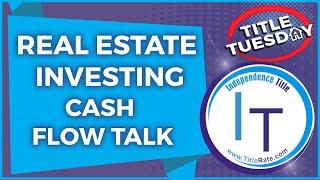 Real Estate Investing   Real Estate Agent   Cash Flow Talk