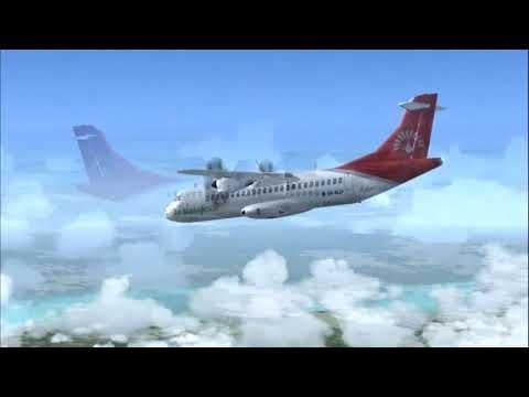 Air Madagascar MD500 ATR72-500 5R-MJF Antananarivo (TNR) - Toamasina (TMM)
