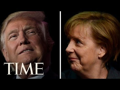 President Trump & German Chancellor Angela Merkel Speak At Joint News Conference | TIME