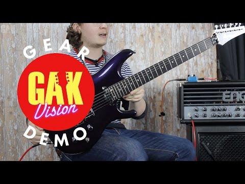 GAK DEMO : Ibanez Joe Satriani JS2450-MCP (Muscle Car Purple)
