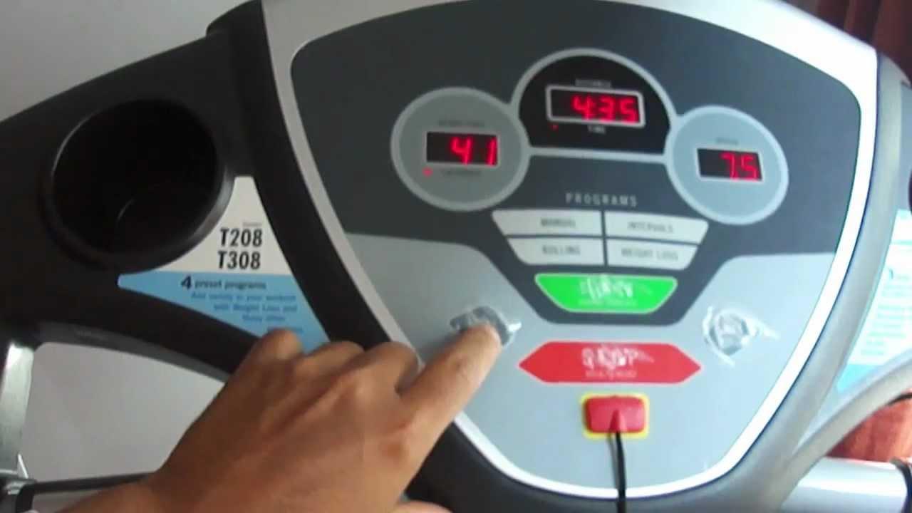 Video Esteira Johnson Treo T208 110v Youtube