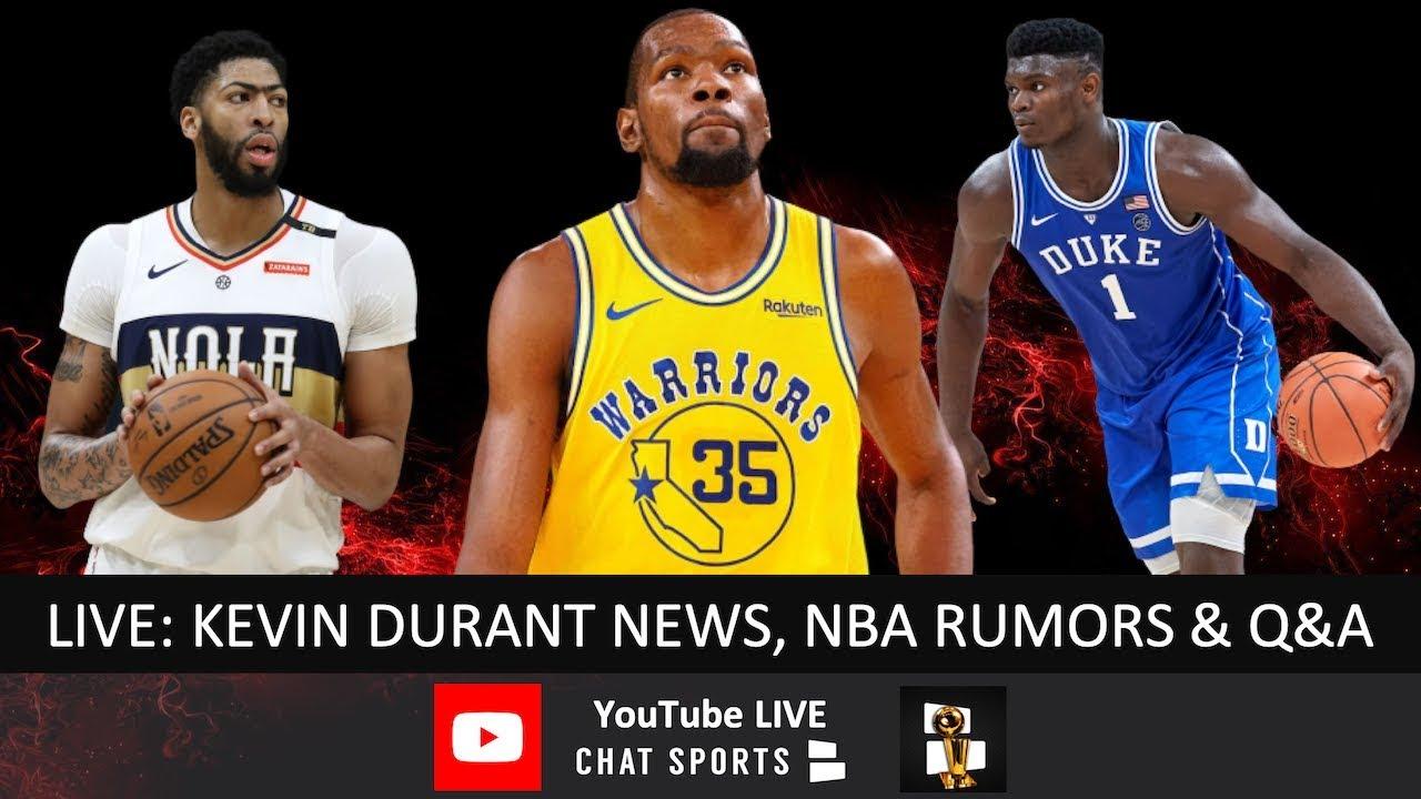 Kevin Durant Injury News, NBA Rumors, Anthony Davis Trade Rumors, NBA Draft  Big Board & Live Q&A