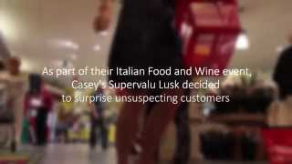 Surprise Opera Performance in a Dublin Supermarket