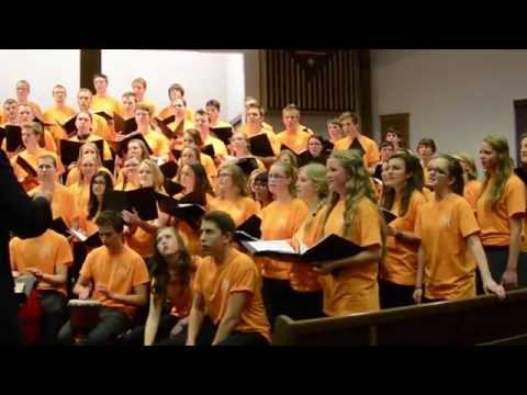 Shosholoza  African Song! All Ontario Choir 2014