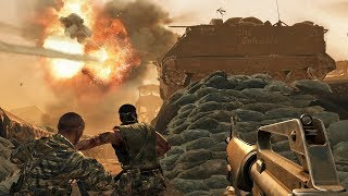 Call of Duty Black Ops - S.O.G. Campaign Mission Gameplay Veteran