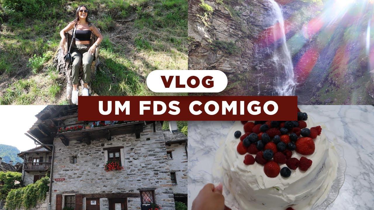 UM FDS COMIGO: Viajei pra Suíça, conheci um lugar INCRÍVEL e fiz bolo de abacaxi com coco 🥥