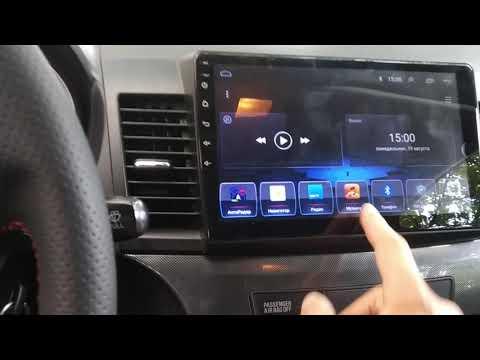 Mitsubishi Lancer X 10 Android автомагнитола