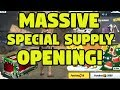 MASSIVE Rules of Survival Supply BOX Opening of the Limited Christmas Special CRATES!