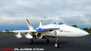 Airfield F18 Hornet 2.4ghz Brushless EDF Fighter Jet Unboxing and Overview