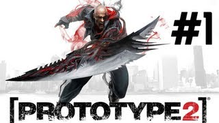 Prototype 2 - Parte 1 [Playthrough] Getting Started, Escape, Religious, The Strong Survive...