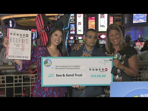 Full Video: Staten Island Powerball Winner Comes Forward