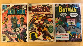 Comic Haul Ep. 24 - Batman Bronze Age & Daredevil