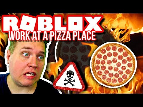VÆRSTE PIZZARIA: BRAND I PIZZARIAET! 🔥😱🍕 :: Roblox Work at a Pizza Place Dansk