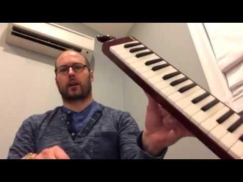 George Colligan Reviews New Melodica: Yamaha P37D 37 Key Pianica