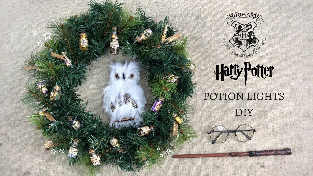 Harry Potter Diy Potion Lights Youtube