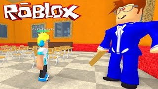 ROBLOX ESCAPE THE EVIL TEACHER OBBY | RADIOJH GAMES & GAMER CHAD