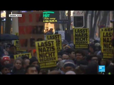 Thousands protest far-right coalition in Austria