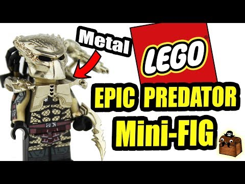 Predator Custom Movie Minifigures1 Lego Youtube yvnwmN0O8