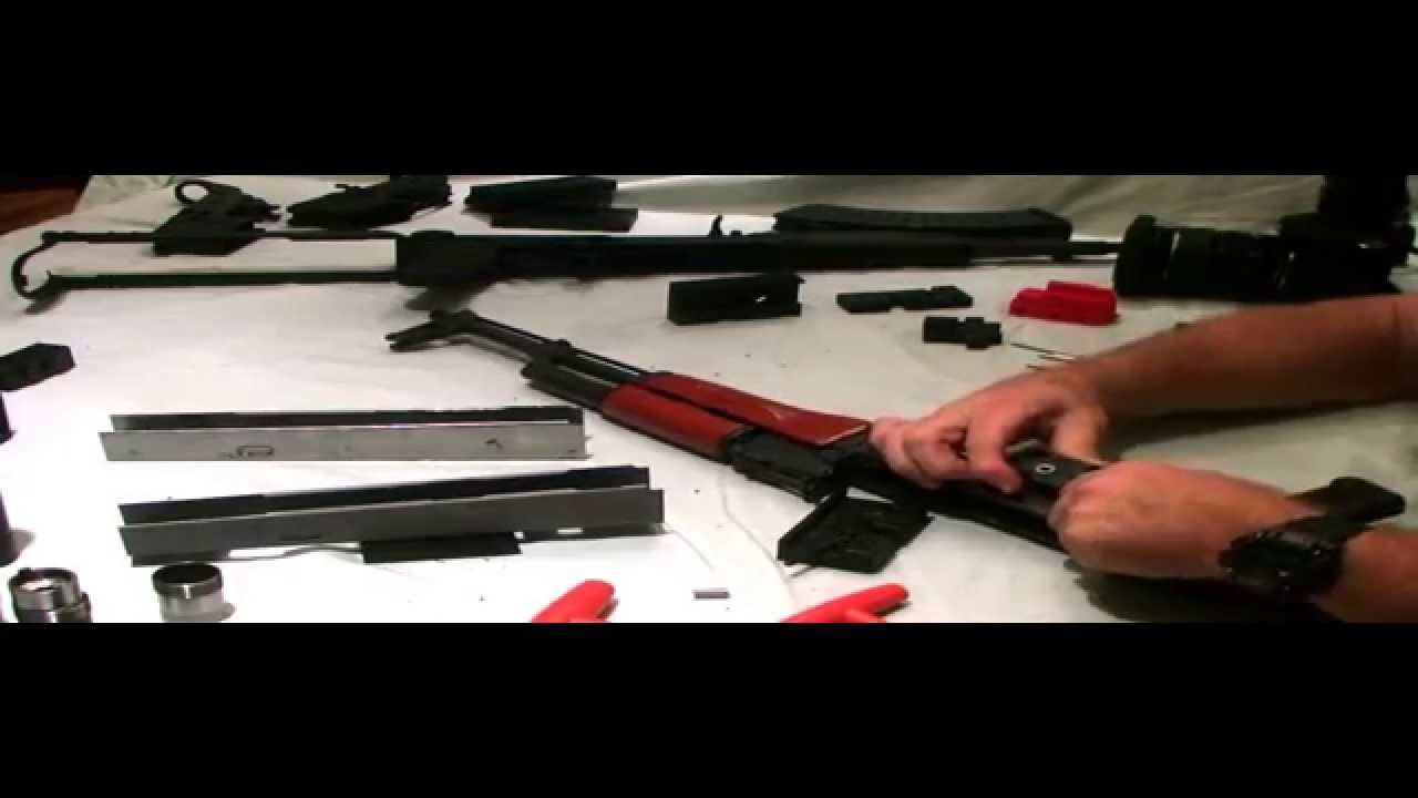 AK-47 Class II conversion jig to select fire