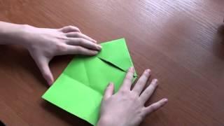 Оригами лягушка видео http://nashydetky.com(Сайт http://nashydetky.com - все о детях и для детей, представляет новый видеоурок по оригами. Как сделать лягушку?..., 2012-03-27T04:30:32.000Z)
