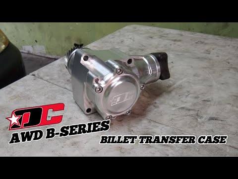 Drag Cartel B-series Billet AWD T-Case assembled by Red