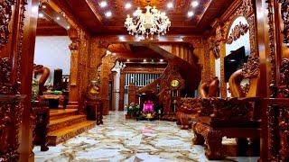 Bán nhà Gò Vấp( 104 )5m x 20m Nhà mặt tiền ốp toàn Gỗ quý tại Gò Vấp 13.4 tỷ