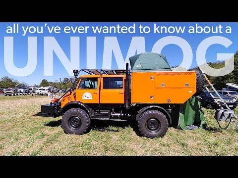 Ultimate Overland Vehicle - Unimog Walk Around - Overland Ex