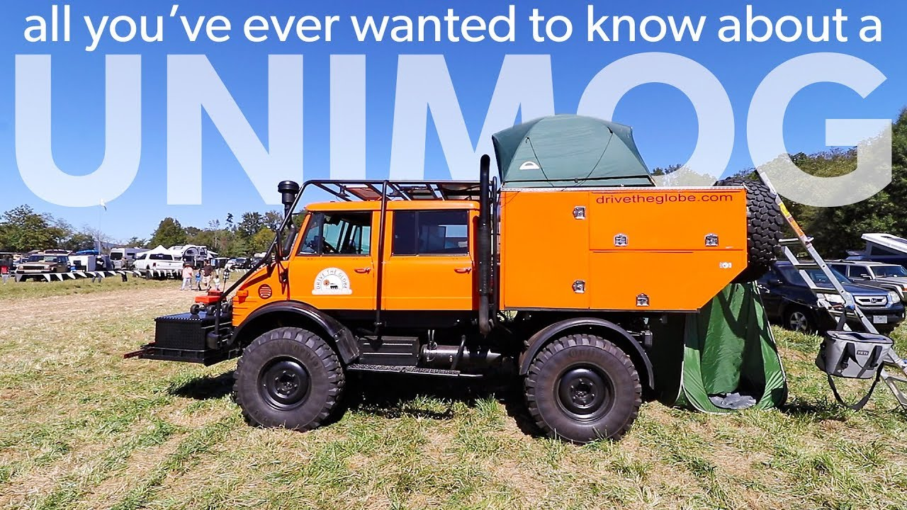 Ultimate Overland Vehicle - Unimog Walk Around - Overland Expo East 2017