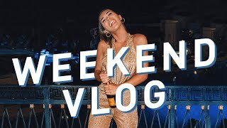 Welcome To My New House & Party Time   WEEKEND VLOG