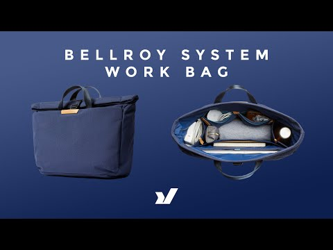 Casually Professional - The Bellroy System Work Bag
