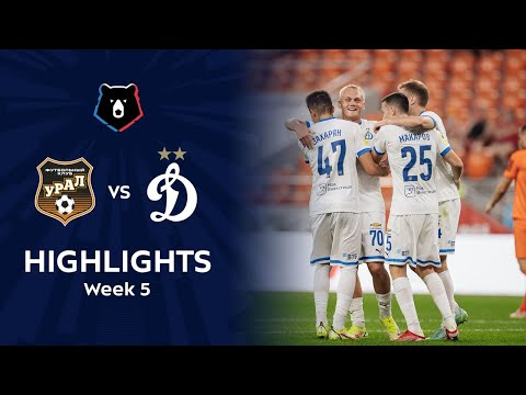 Ural Dinamo Moscow Goals And Highlights