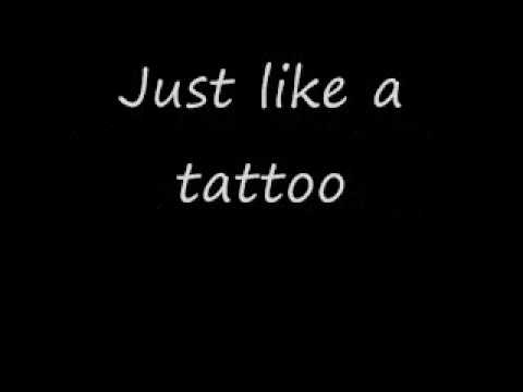 Jordin Sparks- Tattoo Song and Lyrics