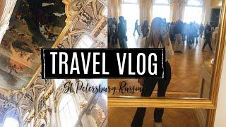 Exploring St. Petersburg, Russia // Travel Vlog
