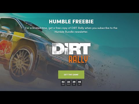 DiRT RALLY For FREE - Get It Quick!!!