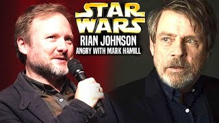 Rian Johnson Is Angry With Mark Hamill Now! (Star Wars Explained)