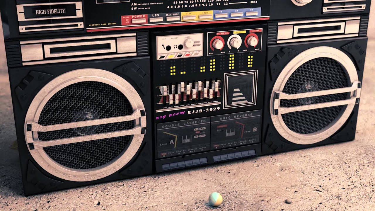 1980's Vintage Sanyo Home Decor: 80s -Sanyo- Slam dunk ...  |80s Boombox