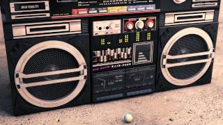 Repeat youtube video Going 3d 80's Boombox