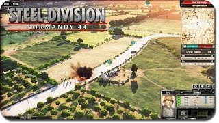 FIRST STEEL DIVISION GAMEPLAY FOOTAGE! Highly Anticipated World War 2 RTS!