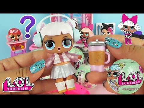 Куклы ЛОЛ / L.O.L. Surprise Series 2 SNOW ANGEL Ball Toys Baby Doll and Color Changing
