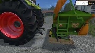 DL - Link Düngerstreuer:  https://www.modhoster.de/mods/amazone-zam1201  Traktor: Claas Axion 850  Map: Kleinseelheim Final