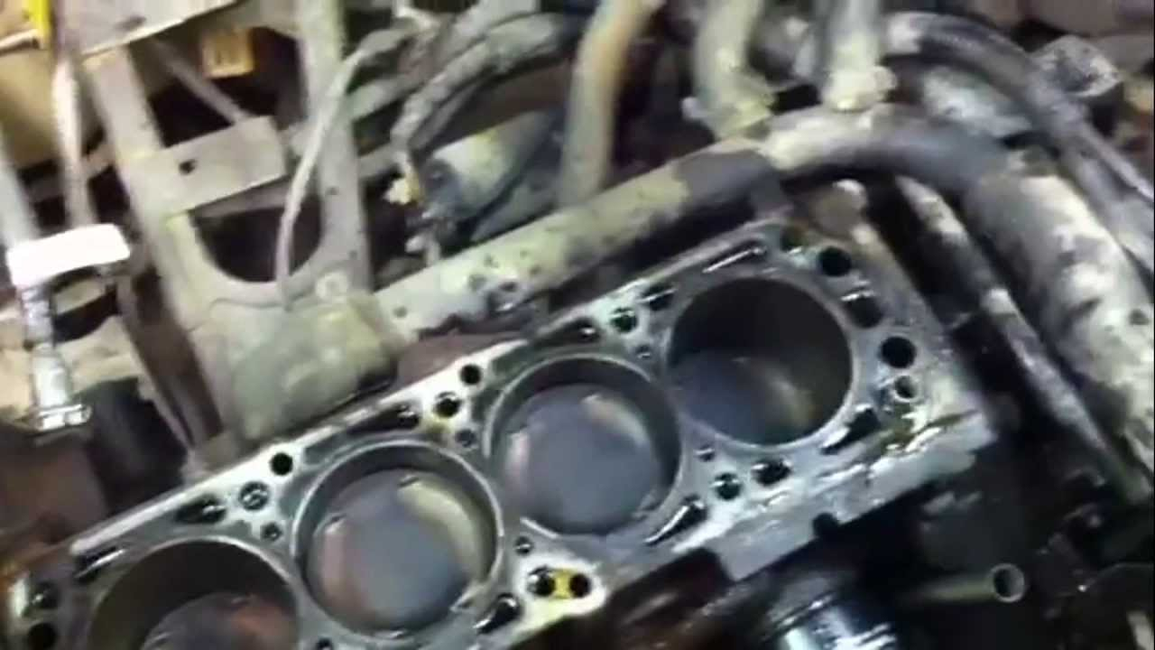 2005 Chevy Aveo timing belt idler failure - YouTube