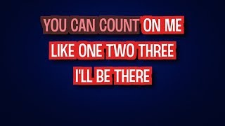 Download Lagu Bruno Mars - Count On Me (Karaoke Version) mp3