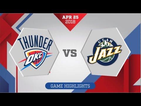 Utah Jazz vs Oklahoma City Thunder Game 5: April 25, 2018