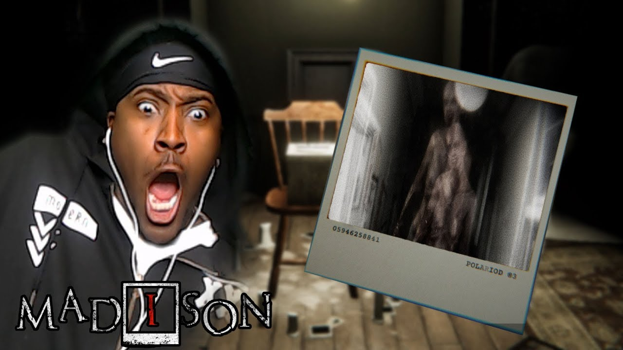 CAPTURE A GHOST USING SPIRIT PHOTOGRAPHY  | MADiSON Demo Gameplay