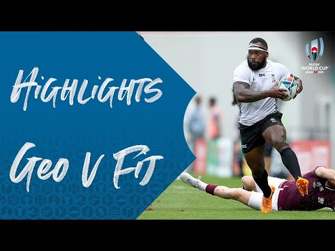 Highlights: Georgia v Fiji - Rugby World Cup 2019